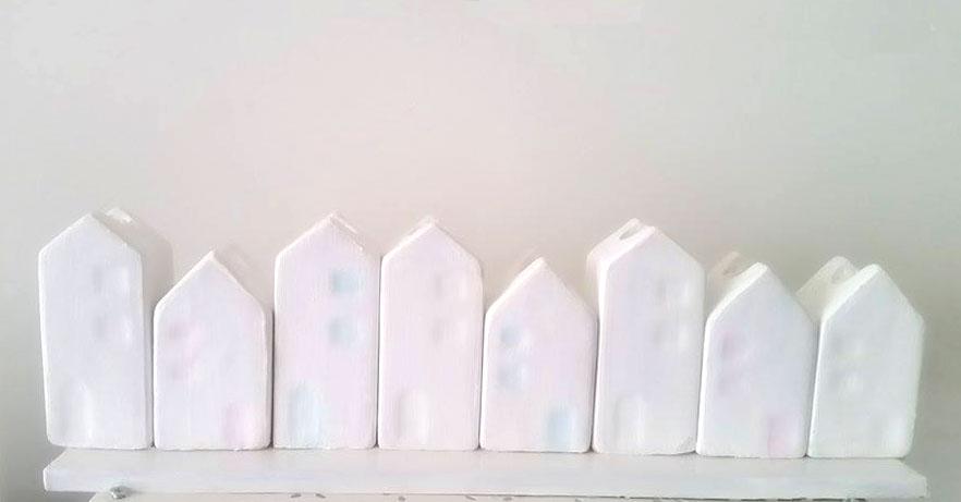 maisons nordiques blanches noël blanc luminoso kubbicolor