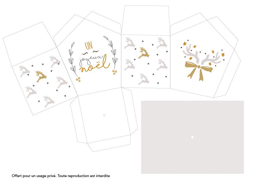 Printable maisons en papier mamzelle deco Kubbicolor
