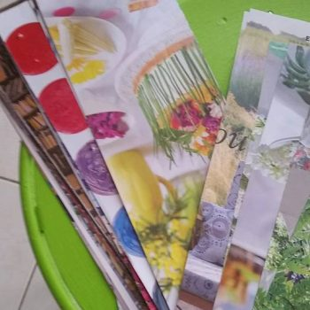 DIY – Ne jetez plus vos magazines, transformez-les en vide poche