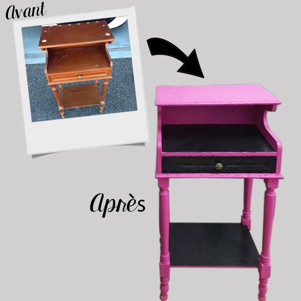 Relooking petit meuble