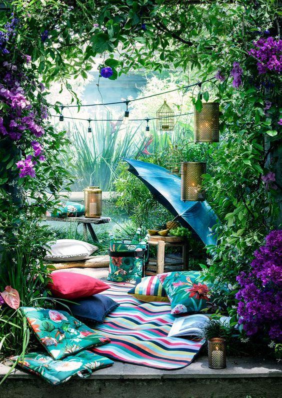 Une décoration tropicale