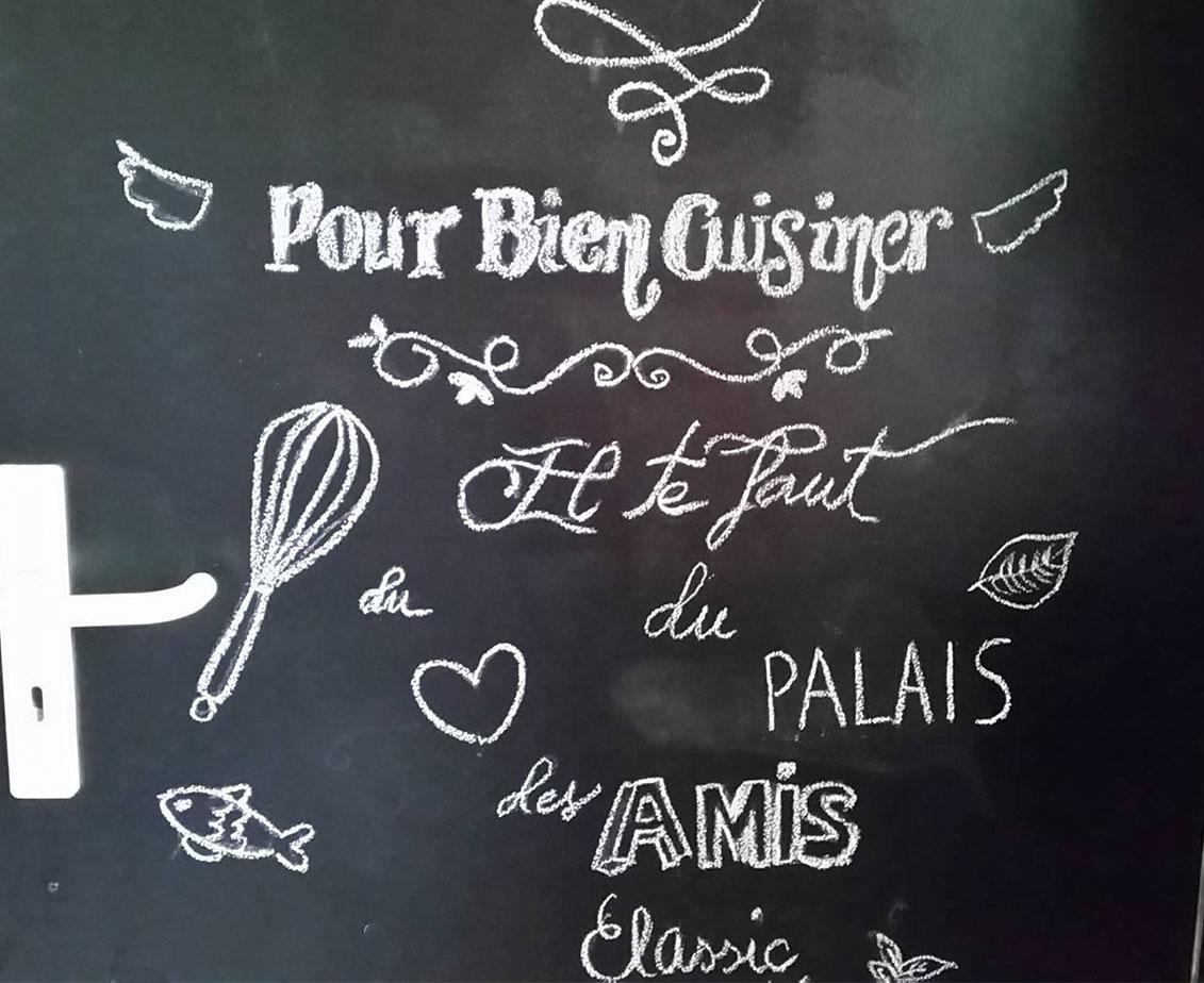 Tableau Noir Deco Pour Cuisine diy - porte de cuisine relookée avec la peinture à la craie
